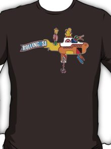 Yellow Submarine (sea of monsters) T-Shirt