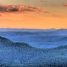 Blue Mountains Fantasy - Blue Mountains HDR Series by Philip Johnson