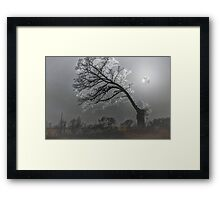 Frosty Winter's Eve Framed Print