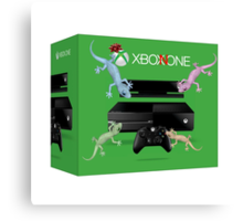 Xbox None Canvas Print