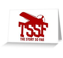 The Story So Far Old School EP Logo Greeting Card