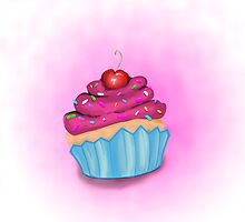 Sweet candy muffin by delafuente