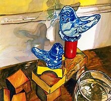 Bluebirds of Happiness by StarrWeems