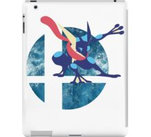 Super Smash Bros Greninja iPad Case/Skin