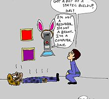 Easter with the HAL-9000 by Karli Martin