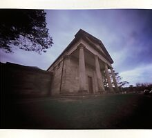 Berima VIII - Polaroid Pinhole by David Amos