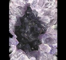 Amethyst Geode iPhone / Samsung Case by Tucoshoppe