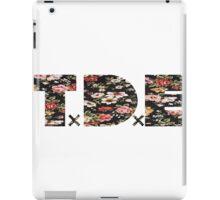 TDE Floral 2 iPad Case/Skin