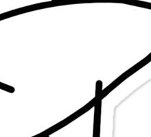 Flipper. Sticker