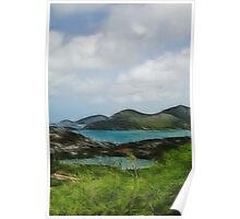 English Harbour, Antigua Poster