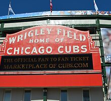 Wrigley Field Chicago by Jonathan Stafford