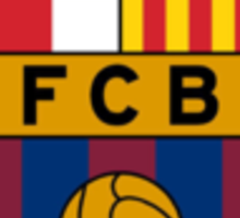 FC Barcelona. Sticker
