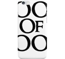 Tookish Fools Black iPhone Case/Skin