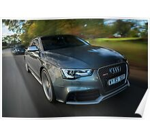 Audi RS5 and RS4 Poster