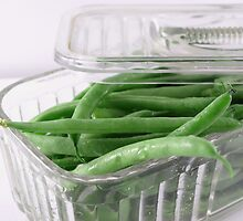 FRESH GREEN BEANS by SharonAHenson