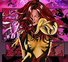 Jean Grey - Comic Styled by pxat