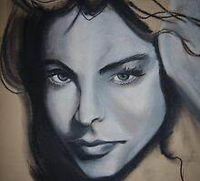 girls face by Jennyleonard