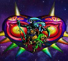 majora mural  by TheMrBflo