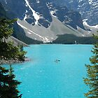 Moraine Lake by Colin Bowdery