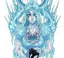 The Ice Queen (white) by Martin Abel