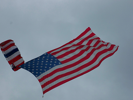 Patriotic Flight by A Different Eye Photography