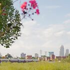 Downtown Winston Salem NC  by NerdFox