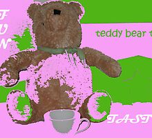 teddy bear tea by ryan  munson