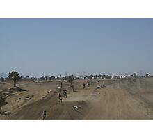 Loretta Lynn's SW Area Qualifier - LOVES RED! Competitive Edge MX - Hesperia, CA, (217 Views as of 5-9-11) Photographic Print