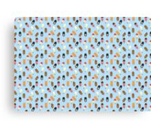 Mega Ice Cream Pattern Canvas Print