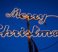 neon christmas by davidprentice