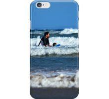 At the Surf iPhone Case/Skin