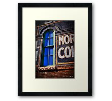 Signs Of The Past Framed Print
