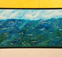 Fury of the Sea by Brushstrokes