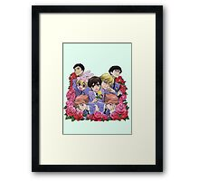 Ouran Highschool Host Club Framed Print