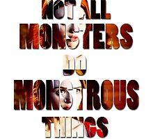 Not All Monsters Do Monstrous Things [The Banshee] Photographic Print
