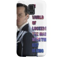 In a World Of Locked Rooms... Samsung Galaxy Case/Skin