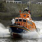 Whitby Lifeboat by Colin Brittain