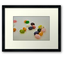 Jelly Belly Framed Print