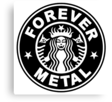 Forever Metal Canvas Print