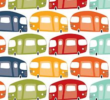 vw combi by laurathedrawer