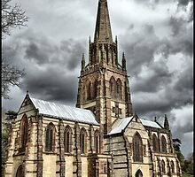 Church at Clumber Park Nottinghamshire by Melody Shanahan-Kluth