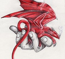 Red dragon's lullaby by sandra chapdelaine