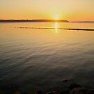 Serene Sunset by Faith Barker Photography
