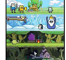 Adventure Time by MonHood