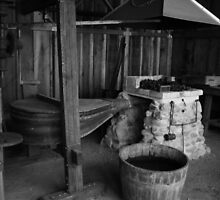 California's - Mission San Juan Bautista Black Smith Shop by Jeff Brewster
