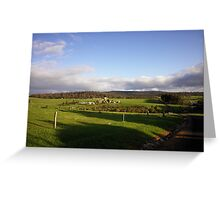 West Australian countryside Greeting Card