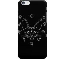 Cosmic Kitty White iPhone Case/Skin