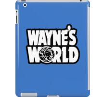Wayne's world film movie logo iPad Case/Skin
