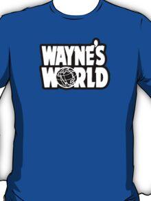 Wayne's world film movie logo T-Shirt