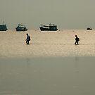 walking on water by Alex Evans